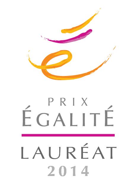 PRIX ÉGALITÉ LAURÉAT 2014