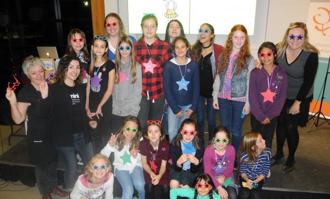 On  célèbre la Journée internationale des filles à Sainte-Adèle!
