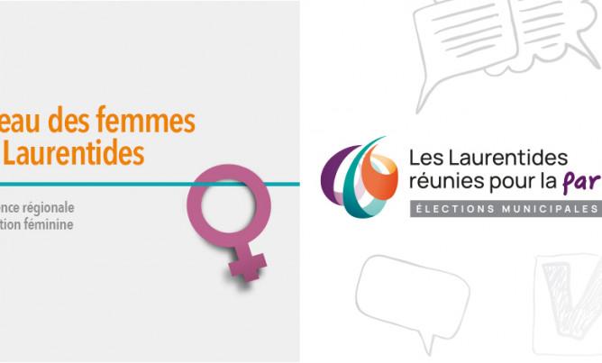 Élections municipales 2021 : Les Laurentides réunies pour la parité!